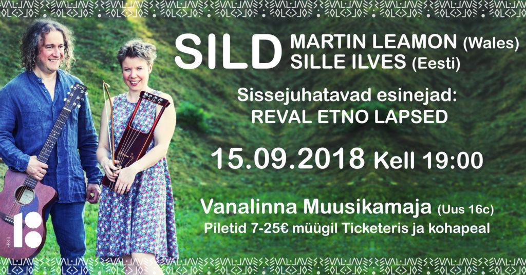 bae4cfe8181 SILD: Sille Ilves and Martin Leamon (Estonia/Wales) with Reval Etno ...